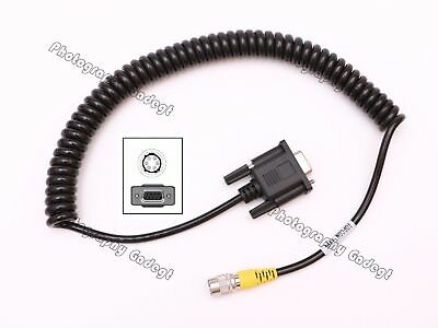 Com Rs232 Rs-232 Data Cable For Sokkiatopcon Total Stations Data Collector
