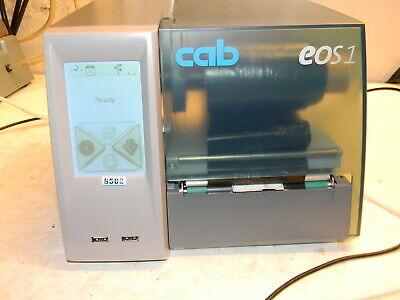 Cab Eos1300 Touchscreen Lcd Display Bar Code Label Printer Pn 5965102 300 Dpi