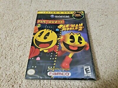 New Sealed Nintendo Gamecube: Pac-Man Vs. and Pac-Man World 2 Factory Y Fold