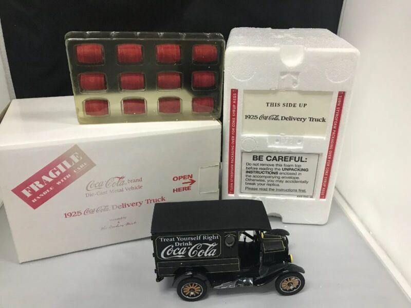 The 1925 Coca-Cola Delivery Truck, Model T, Panel Delivery, The Danbury Mint