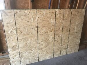 """1/2"""" plywood - two 6'x4' sheets"""