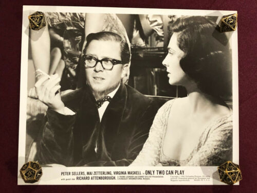 ONLY TWO CAN PLAY ORIGINAL MOVIE PHOTO STILL 1962 RICHARD ATTENBOROUGH