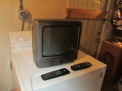 Beautiful 15 inch RCA television with remotes  good buy