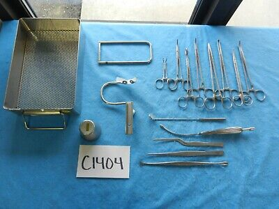 Meisterhand Surgical Ent Tonsillectomy Adenoidectomy Instrument Set W Tray