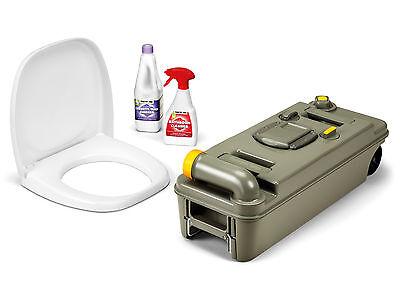 Thetford Fresh-Up Set für C2/3/4 Toilette, LINKS, neues Modell mit Räder, NEU