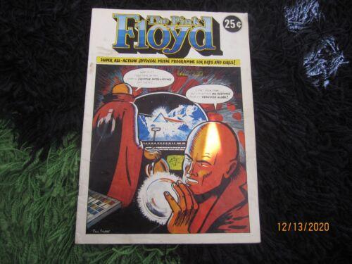 Pink Floyd Orig 1974 Comic Book Tour Program Dark Side of the Moon Gerald Scarfe