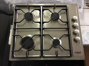 Brand New Factory Second kleenmaid 4 Burner Gas Cook Top RRP $679