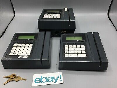 Accu-time Series 2000 Time Clock And Data Collection Terminal Bundle Used Parts