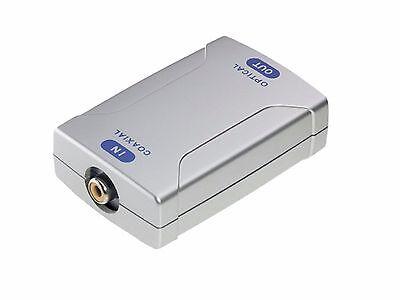 Inakustik Premium Digital Audio Opto Konverter Toslink -></noscript> Koaxial opto -> coax