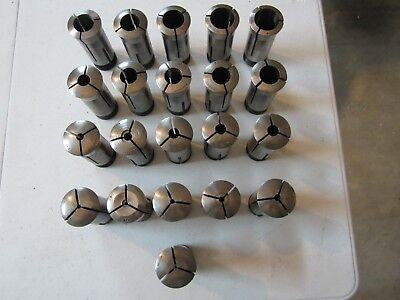 Hardinge 5c Collet Set 21pc Sizes 564 - 1 364
