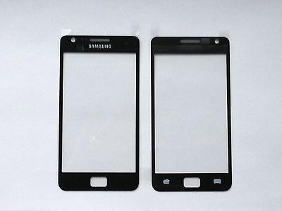 Samsung Galaxy S2 I9100 I9105 FRENTE Cristal Vidrio Pantalla Táctil negro NUEVO, usado segunda mano  Embacar hacia Argentina