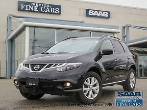 2014 Nissan Murano AWD ONE OWNER ACCIDENT FREE SL HEATED LEATHER