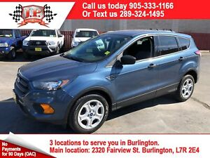 2018 Ford Escape S, Automatic, Bluetooth, Back Up Camera