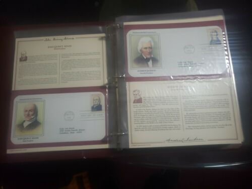 Presidents Of The United States 1st Day Cover Collection Washington To Reagan  - $20.00