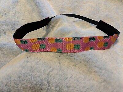 Pineapple Summer Nonslip Active fitness Headband - free Shipping! - Pineapple Headband