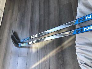 Bâton de hockey gaucher nexus