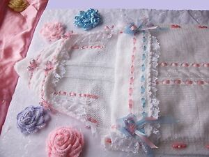 Baby Sleeping bag knitting pattern. papoose, cocoon, Christening .Romany. easy.