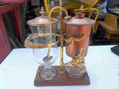 Kaffee Teemaschine mit Brenner H 39 cm sehr Dekorativ schöne Deco