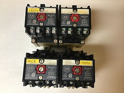 Allen Bradley 700-p400a1 Relay With 120 Volt Coil-lot Of 4