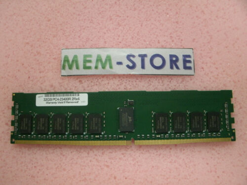 32GB DDR4 2933MHz RDIMM Memory HP Proliant G10 P00924-B21 P06189-001 P03052-091