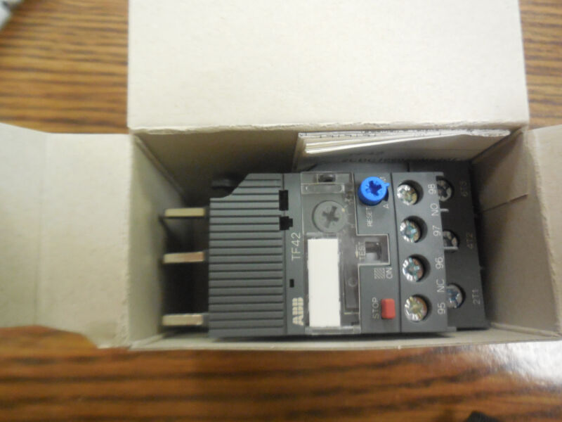 ABB TF42-13 THERMAL OVERLOAD RELAY 10-13 AMP MULTI-PHASE 1SAZ721201R1045