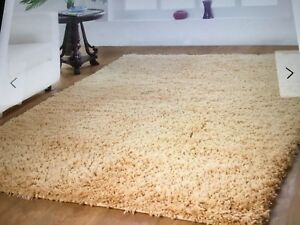 New Affinity Hand Woven Shag Rug -5' x 8'