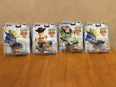 Hot Wheels Disney Pixar Toy Story 4 - Set Of Four NEW