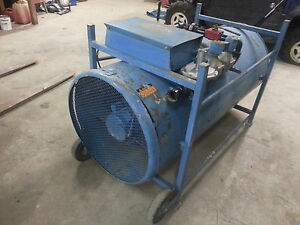 1000000 BTU construction heater