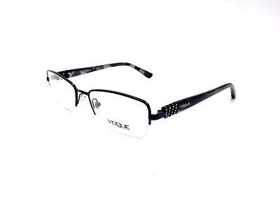 $225 VOGUE WOMENS BLACK EYEGLASSES FRAMES GLASSES OPTICAL EYE LENSES VO 3813-B