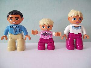 LEGO DUPLO Familienhaus 5639 10505 Familie (Mutter, Vater, Kind) Set 2 NEU