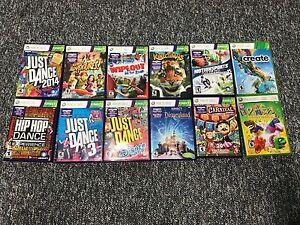 Xbox 360 Kinect games and Sensor