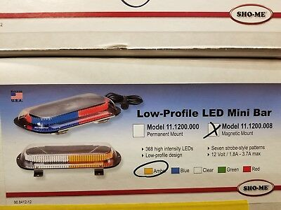 Sho-me Led Mini-bar - Magnetic Mount - Bright - Made In Usa