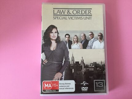 Law and Order SVU DVDs Season 13