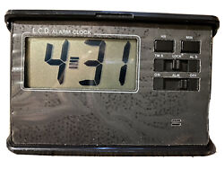 Small LCD Alarm Clock with Alarm