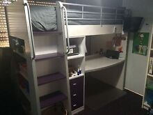 SINGLE LOFT BED WITH DESK Redcliffe Belmont Area Preview