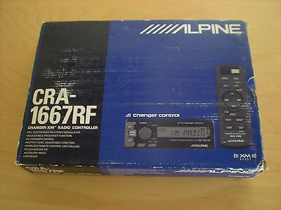 BRAND NEW IN THE BOX  OLD SCHOOL ALPINE CRA-1667RF CD CHANGER CONTROLLER.