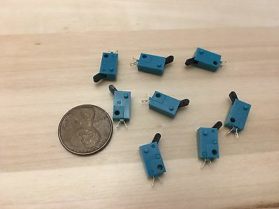 8 Pieces Kfc-v-101 Micro Limit Switch Lever Tiny Small Normally Open No C22
