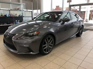2016 Lexus IS 350 F SPORT AWD (4X4) BLUETOOTH GPS TOIT OUVRANT
