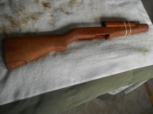 original military replacement M-1 garand wood stock w handguard NOS condition
