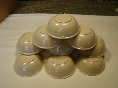 Lot of 12 Plastic Texas Ware Bowls # S 95 Dessert Ice Cream Cereal Soup Bowls