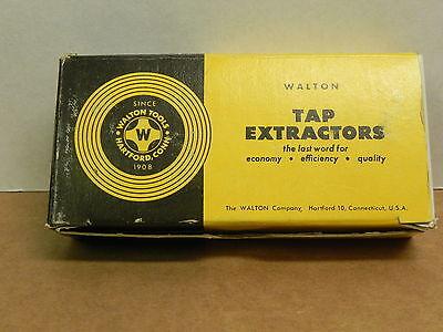 Walton Tap Extractor 58  4-flute 3 Pieces