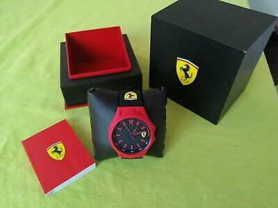 Scuderia Ferrari Pit Crew 0830194 Men Watch