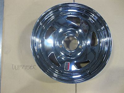 "15""X5 "" 5-4.5 Lugs pattern Blade Chrome wheel"