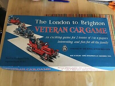Matchbox Models Of Yesteryear Fernel London To Brighton Veteran Car Game