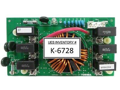 Toshiba Mcc-1310-01 Transformer Relay Board Pcb Nikon Nsr-s610c Spare