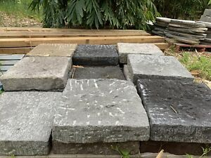 Lavastone landscaping pavers hand made 7cm thick