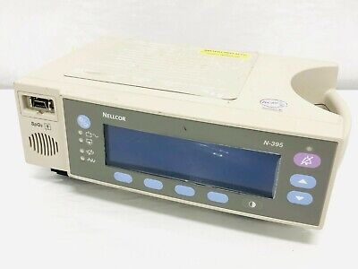 Nellcor N-395 Pulse Oximeter Spo2 Patient Monitor Display Unit