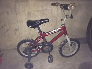 """12"""" Bicycle with Training Wheels"""
