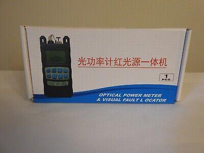 New Optical Power Fiber Meter Visual Fault Locator Fiber Optic Cable Tester