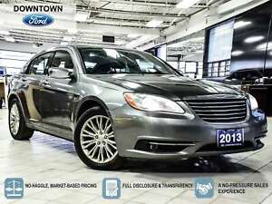 2013 Chrysler 200 Limited | REMOTE START | HTD SEATS | 6.5 TOUCH